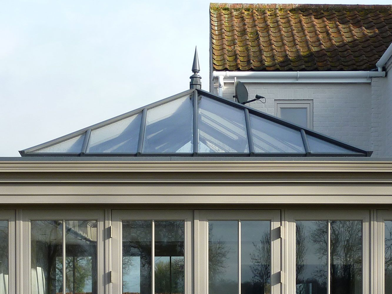 anthracite grey orangery - Google Search | Kitchen extension ...