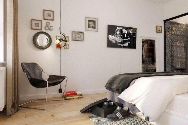 Черно-белый интерьер - Дизайн интерьеров   Идеи вашего дома   Lodgers