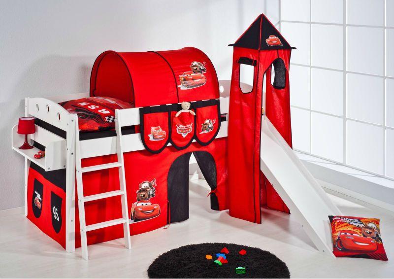 Litera cama para ni os cama de la cabina cama disney cars for Cuartos decorados rayo mcqueen