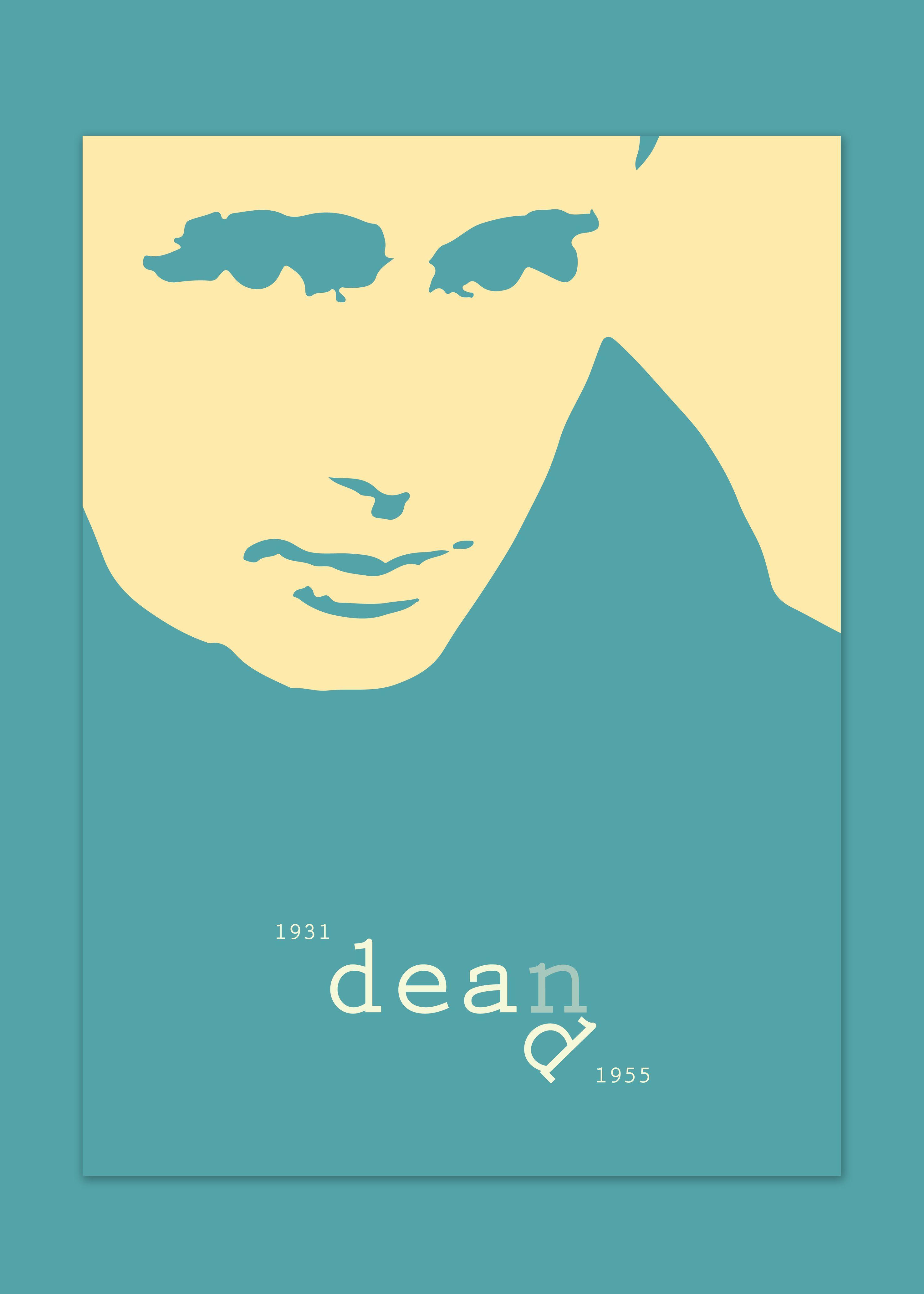 Dean Dead poster, por Sr Fuego Micky Malacostra.