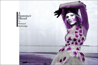 """A Summer Blend"" by Richard Burbridge for Vogue #fashion #photography"