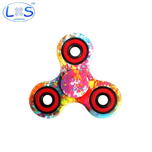 LONSUN Nice Feel Quality Multicolor Tri Spinner Fid spinner