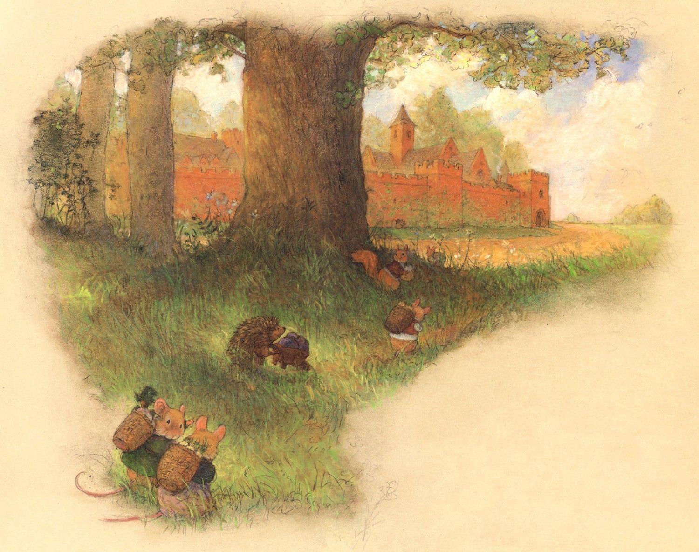 Découvrir l'abbaye de Redwall par christopherdenise sur Etsy