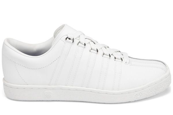 The K-Swiss Classic was the first all leather tennis shoe.