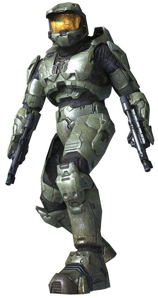 master chief dual smg halo 3