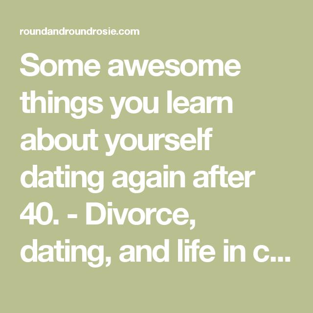 Dating post divorce advice