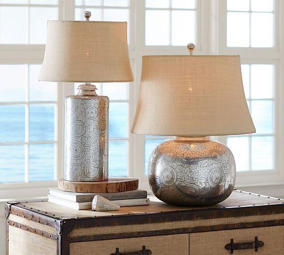 Unique atrium Glass Table Lamp