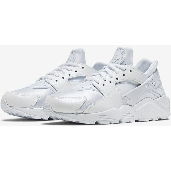 Nike Air Huarache Premium Women's Shoe ($120) ❤ liked on Polyvore featuring shoes, nike footwear, nike and nike shoes