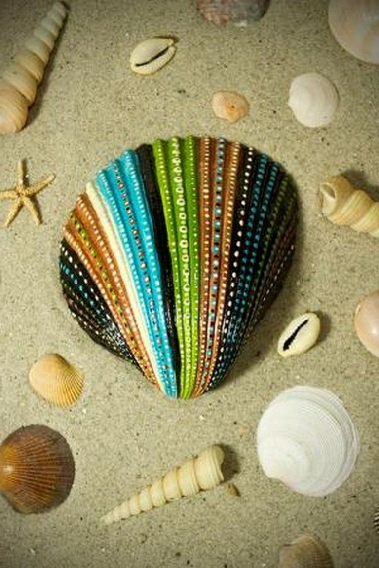 25 Best And Easy Diy Of Painted Rock Ideas Seashell Crafts