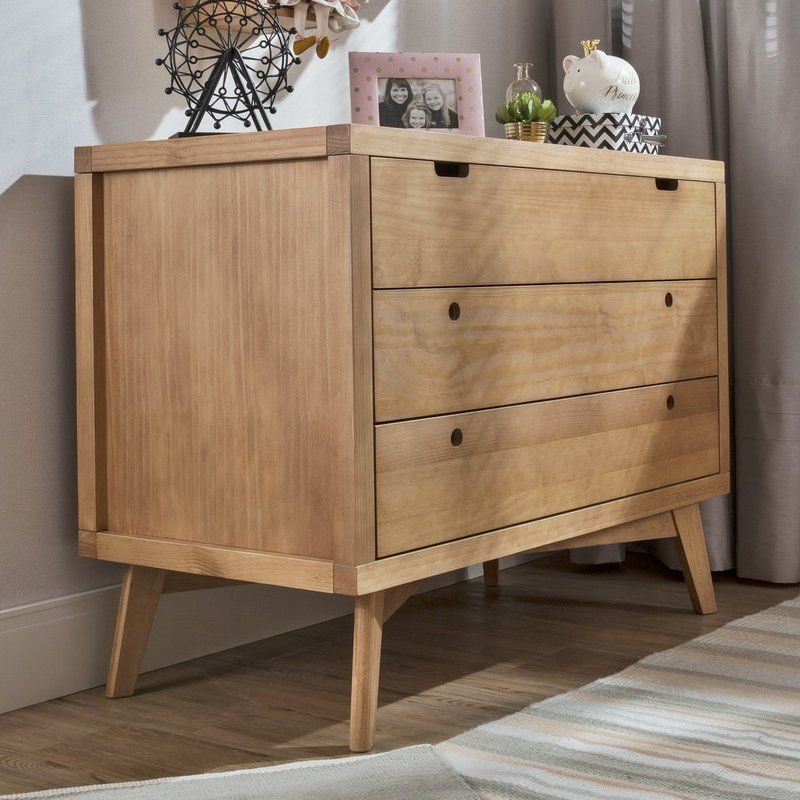 Torrey Retro 3 Drawer Dresser Dresser Drawers 3 Drawer Dresser