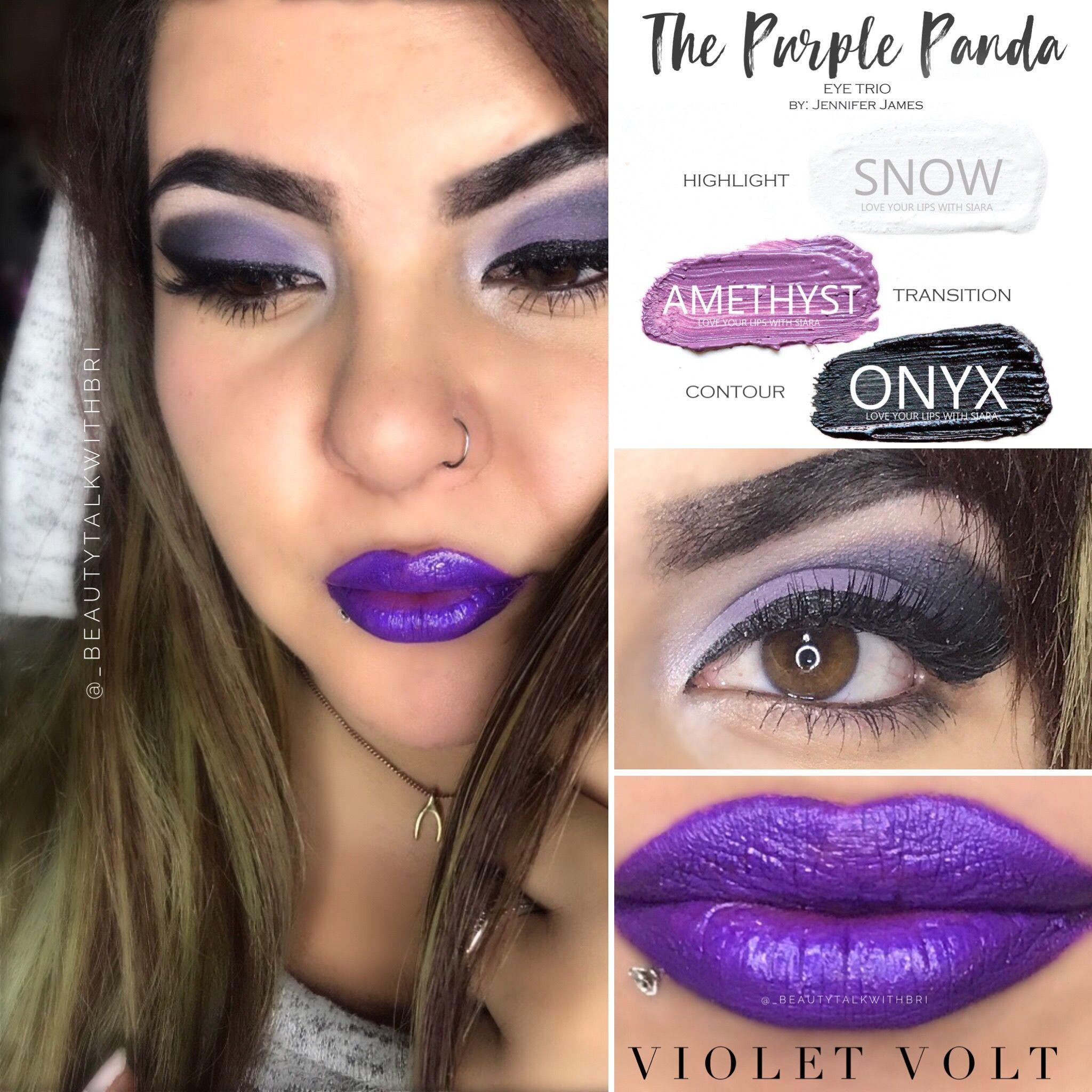Shadowsense Amethyst Onyx Snow Violet Volt Lipsense