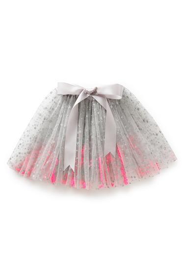 ac401a87e 100% Nylon star print tutu skirt with elasticated waist and bow ...