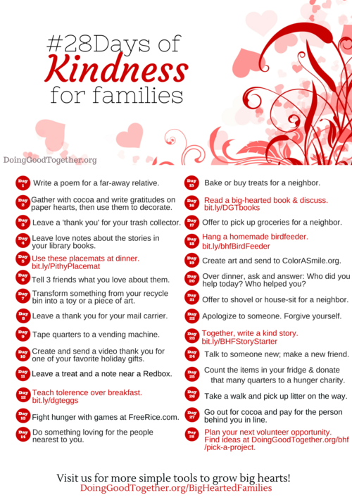 Proposal Essay Topic Ideas  Days Of Kindness Challenge For A Heartwarming Familyfocused  Valentines Day Would Be Fun To Do As A Classroom Girl Scout Club Or  Other Group Buy Essay Paper also English Essay Outline Format  Days Of Kindness Challenge For A Heartwarming Familyfocused  Essays On Science And Religion