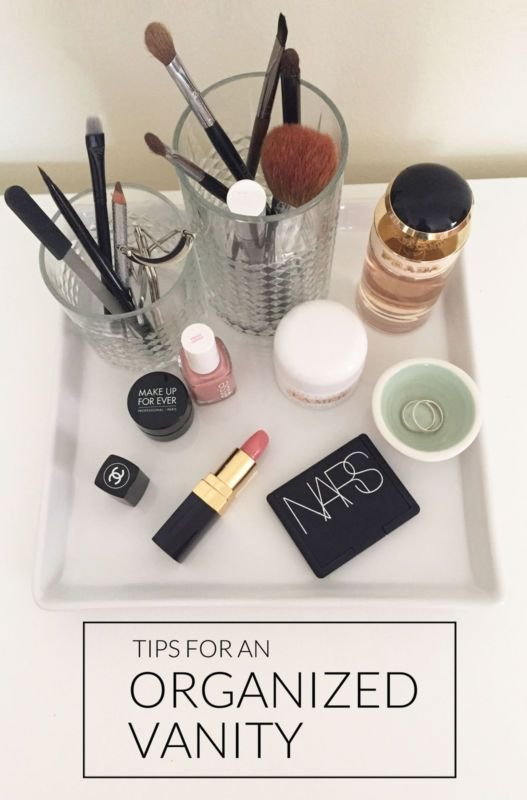 how to keep your vanity looking pretty