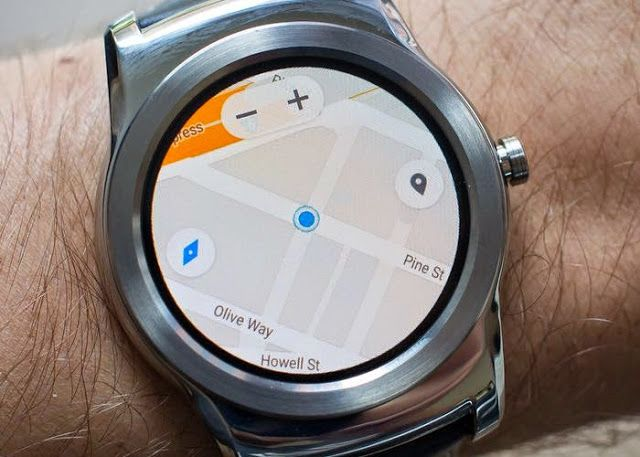 Android Wear Smartwatches Now Support Google Maps