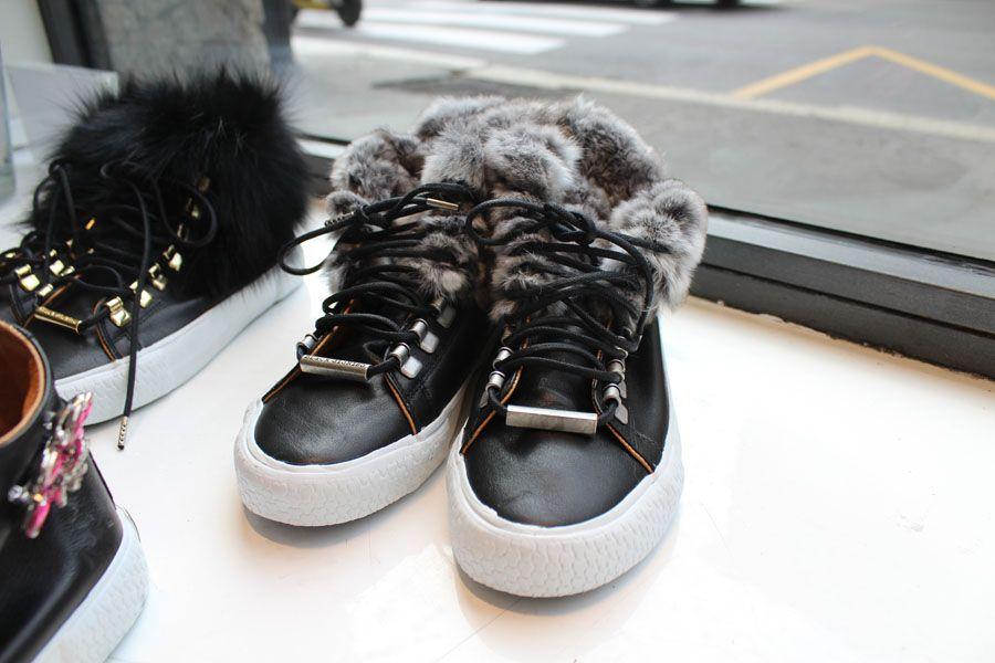 #BlackDioniso #sneakers #moda #donna #sporty #winter #LeABoutique #milano