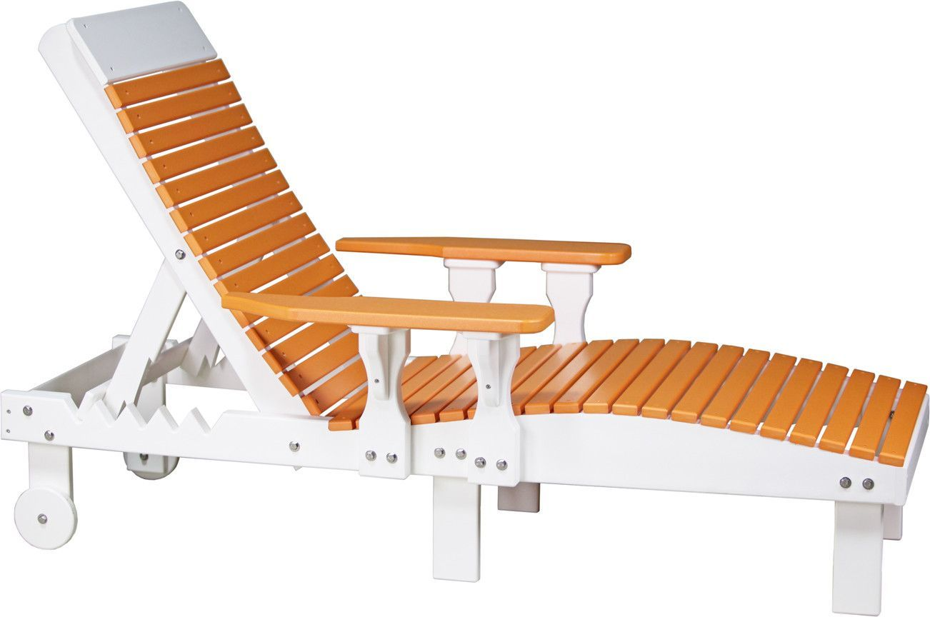 Luxcraft Recycled Plastic Lounge Chair Lawn Furniture Furniture Deck Chairs