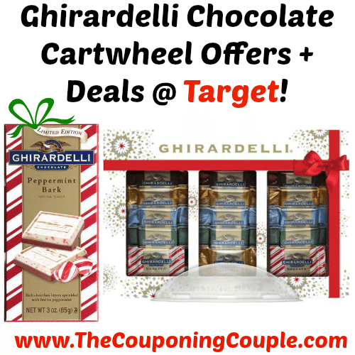 Ghirardelli Chocolate Cartwheel Offers + Deals Target