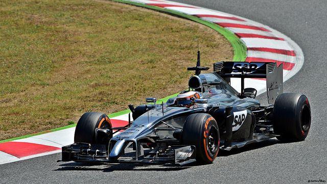 McLaren  MP4-29 / Kevin Magnussen / DNK / McLaren Mercedes