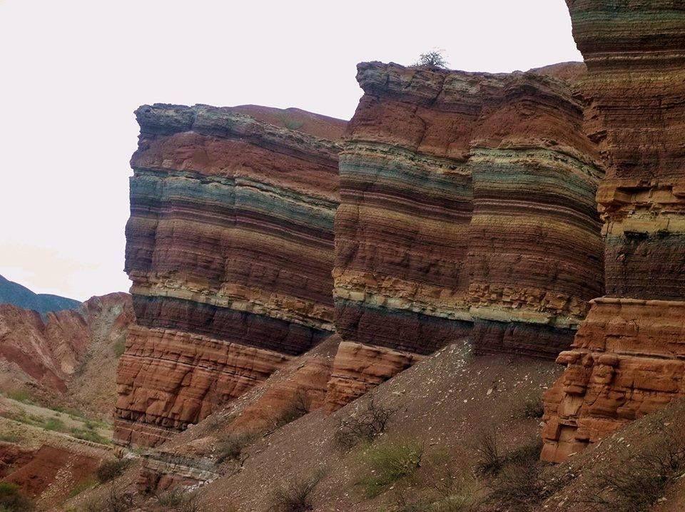 """""""La Yesera"""" - Quebrada de las Conchas - Provincia de Salta - ARGENTINA."""