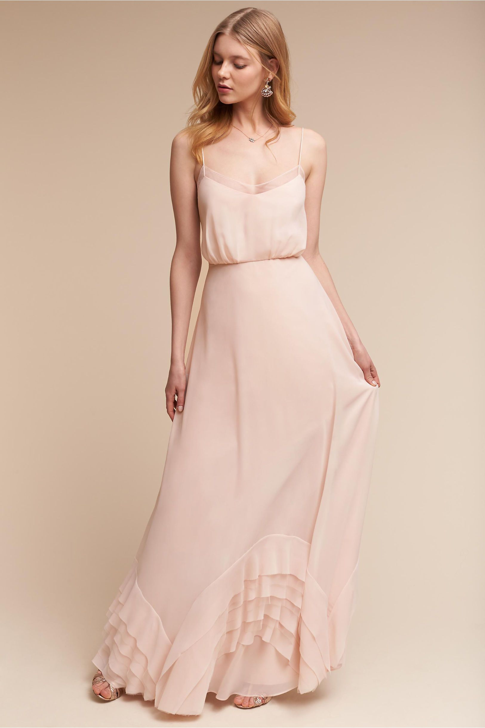 BHLDN Dove Dress in Bridesmaids View All Dresses | BHLDN | back yard ...