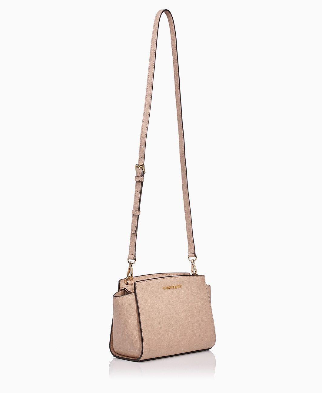 d0fb39b95402 Michael Kors Selma Medium Messenger Blush | Bags | Cheap michael ...