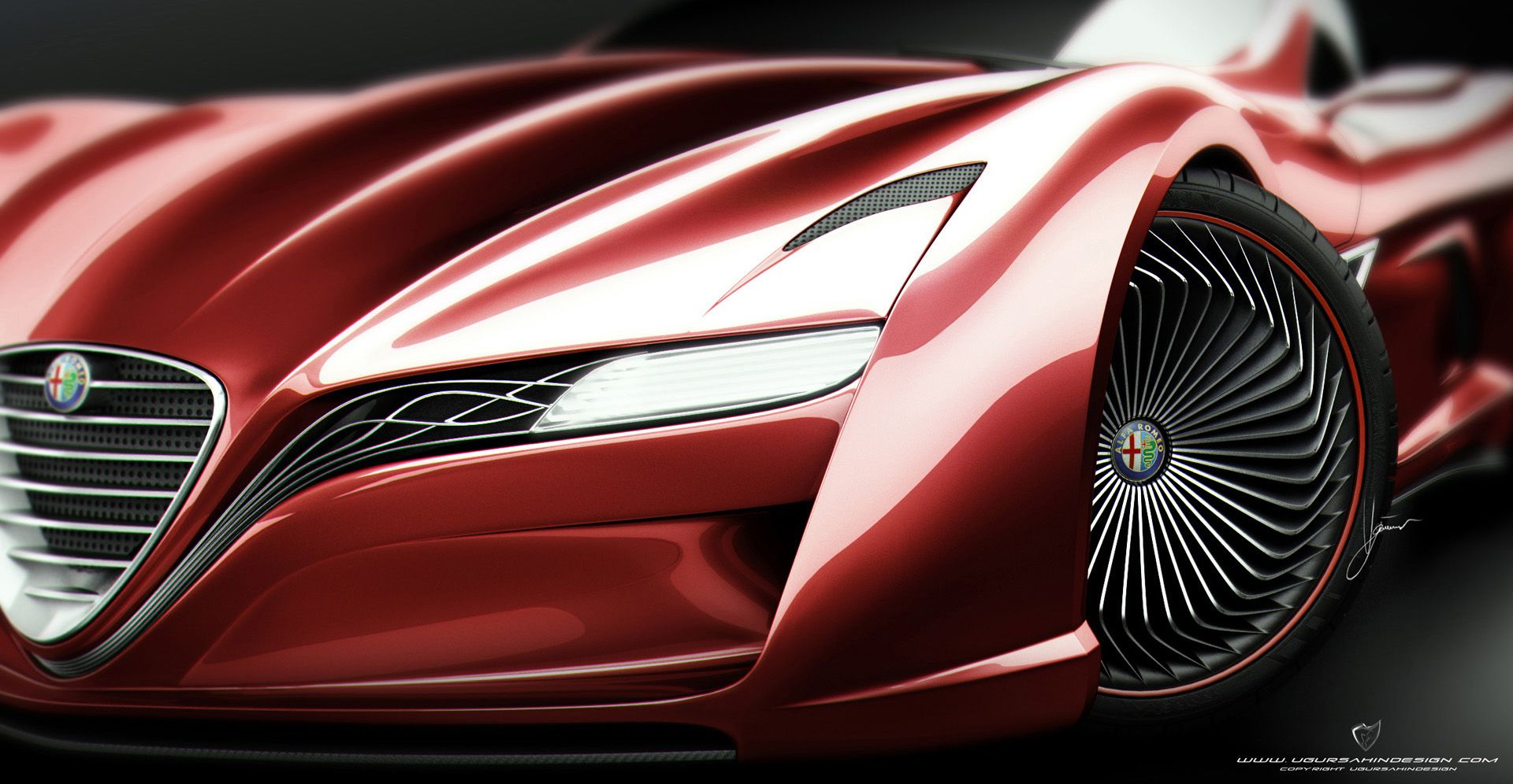 Sahin-Design-Alfa-Romeo-12C-GTS-Red