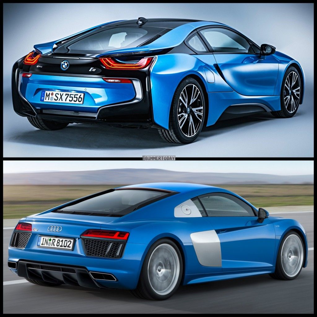 Would You Buy The Bmw I8 Or The Audi R8 Bmw I8 Audi R8 Audi