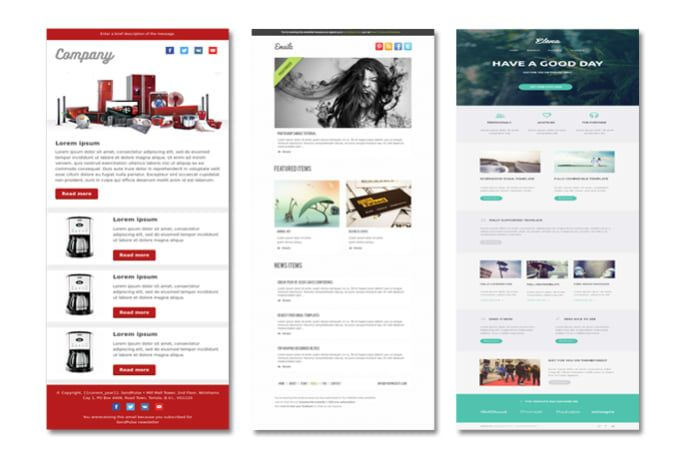 robinbd4u  I will design responsive mailchimp email template