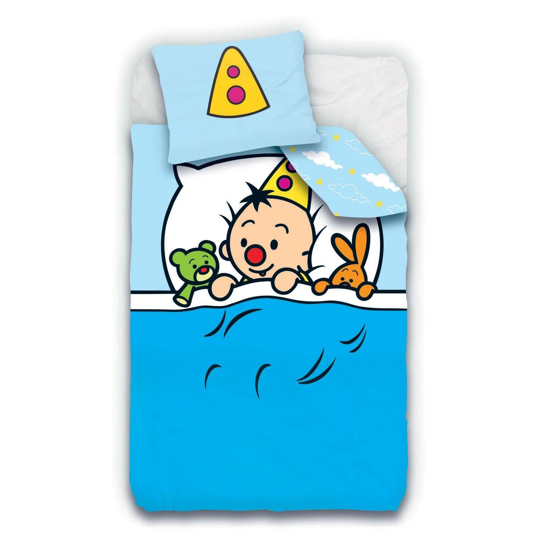 Met dit Bumba dekbedovertrek val je zo in slaap Het dekbed kan aan twee kanten