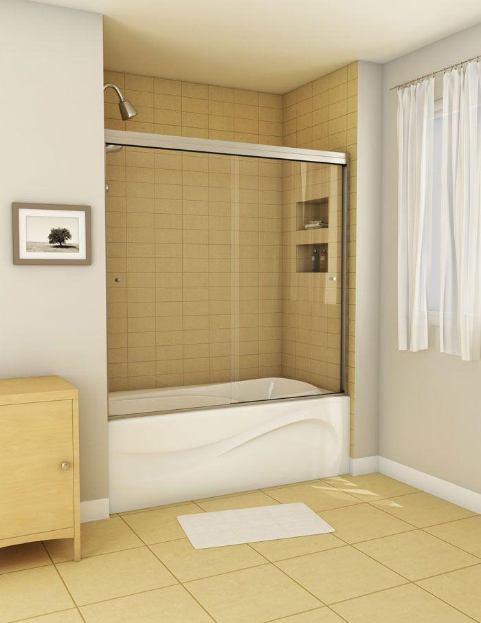 Just A Niche Idea Tub Shower Doors Shower Doors Shower Tub