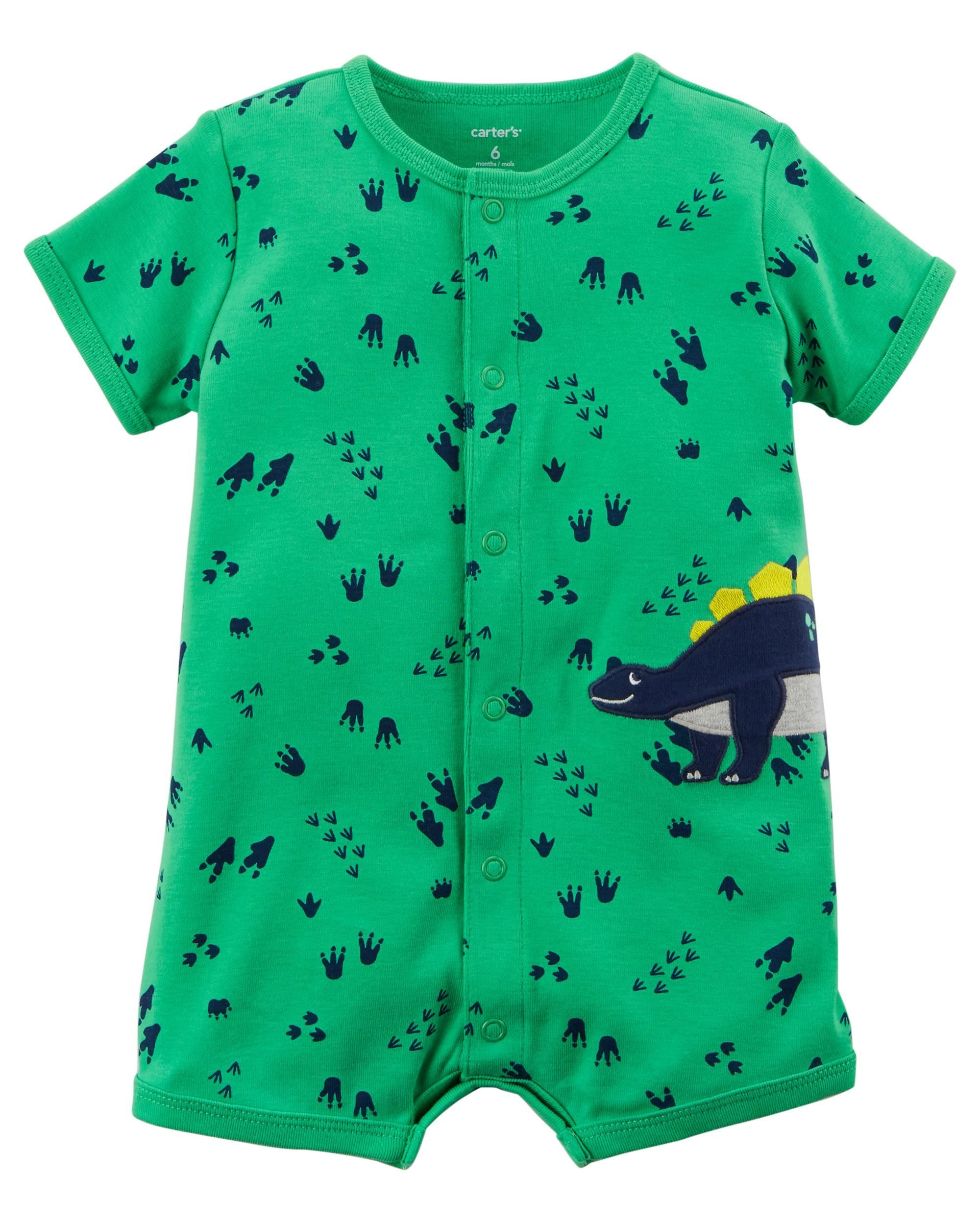 Dinosaur Snap-Up Romper   Pinterest   Babies, Baby boys clothes and ...