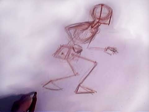 a series of short videos on drawing the human figure