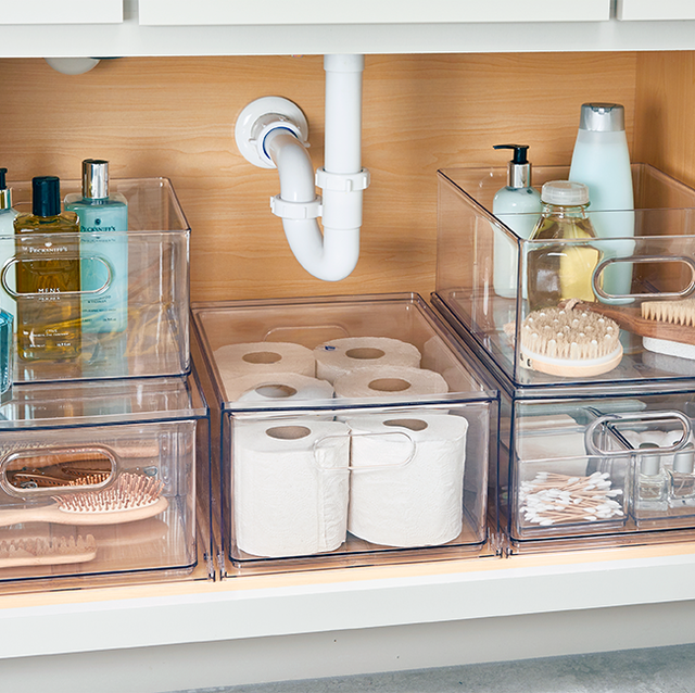 11 Genius Ideas to Up Your Under-the-Sink Storage Game Now