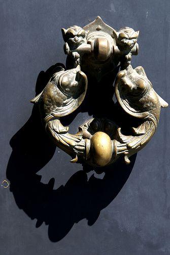 Acireale Turklopfer Doorknocker Barock Stil Stil Und Schmiedekunst