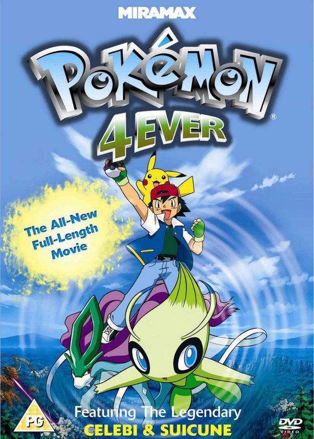 Pokemon Movie 4 Celebi Voice Of The Forest Pokemon Movies