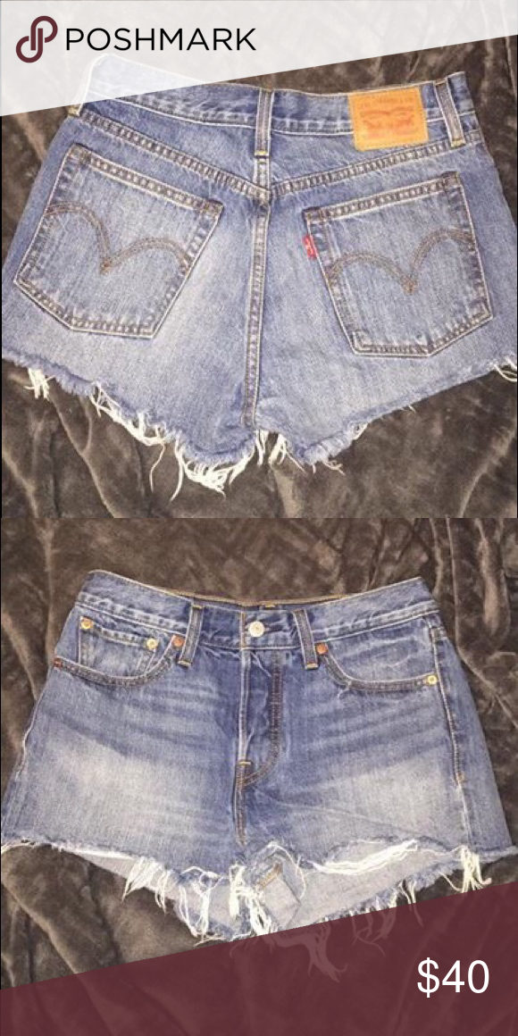 Levi's high waisted cutoff shorts | Cutoffs