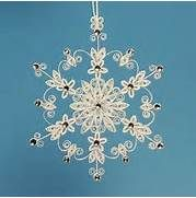 1000+ images about Quilled Snowflakes on Pinterest | Quilling ...