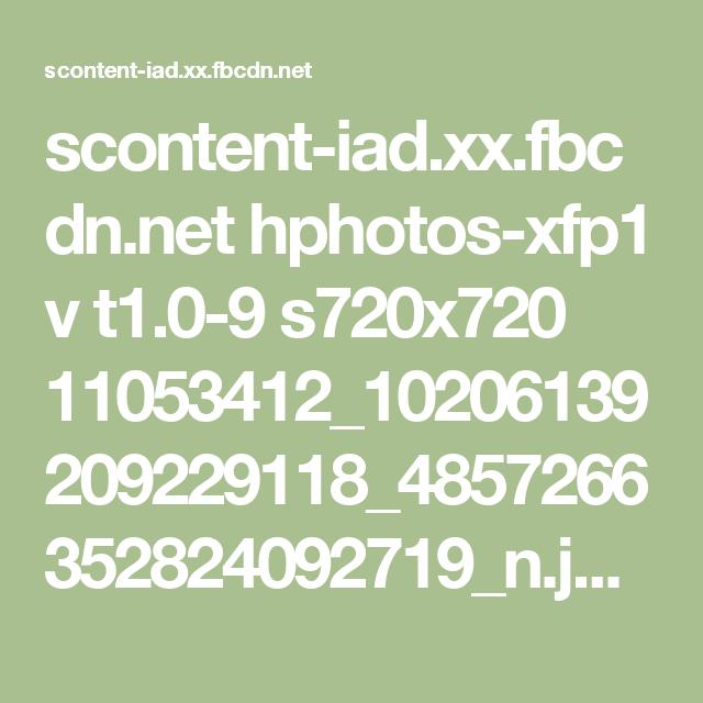 scontent-iad.xx.fbcdn.net hphotos-xfp1 v t1.0-9 s720x720 11053412_10206139209229118_4857266352824092719_n.jpg?oh=0f01f318c800efd1829fcdc6bf84734c&oe=558067ED