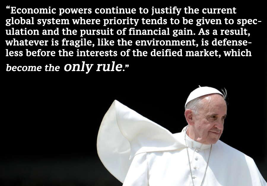 Pope Francis Quote On Global Warming Excerpt From Encyclical Pope Francis Climate Change Quotes Powerful Quotes