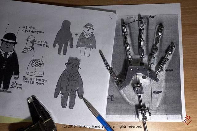 Hand Armature for Kia motors AD