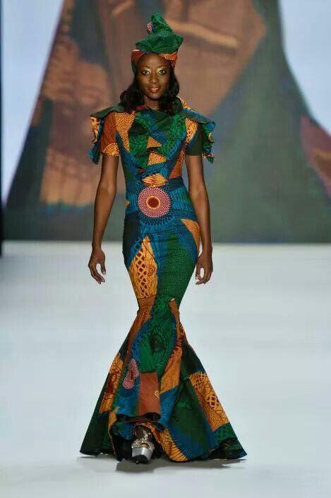 Wow print dress