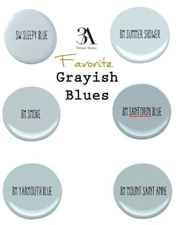 Lovely soft Blue Paint Colors
