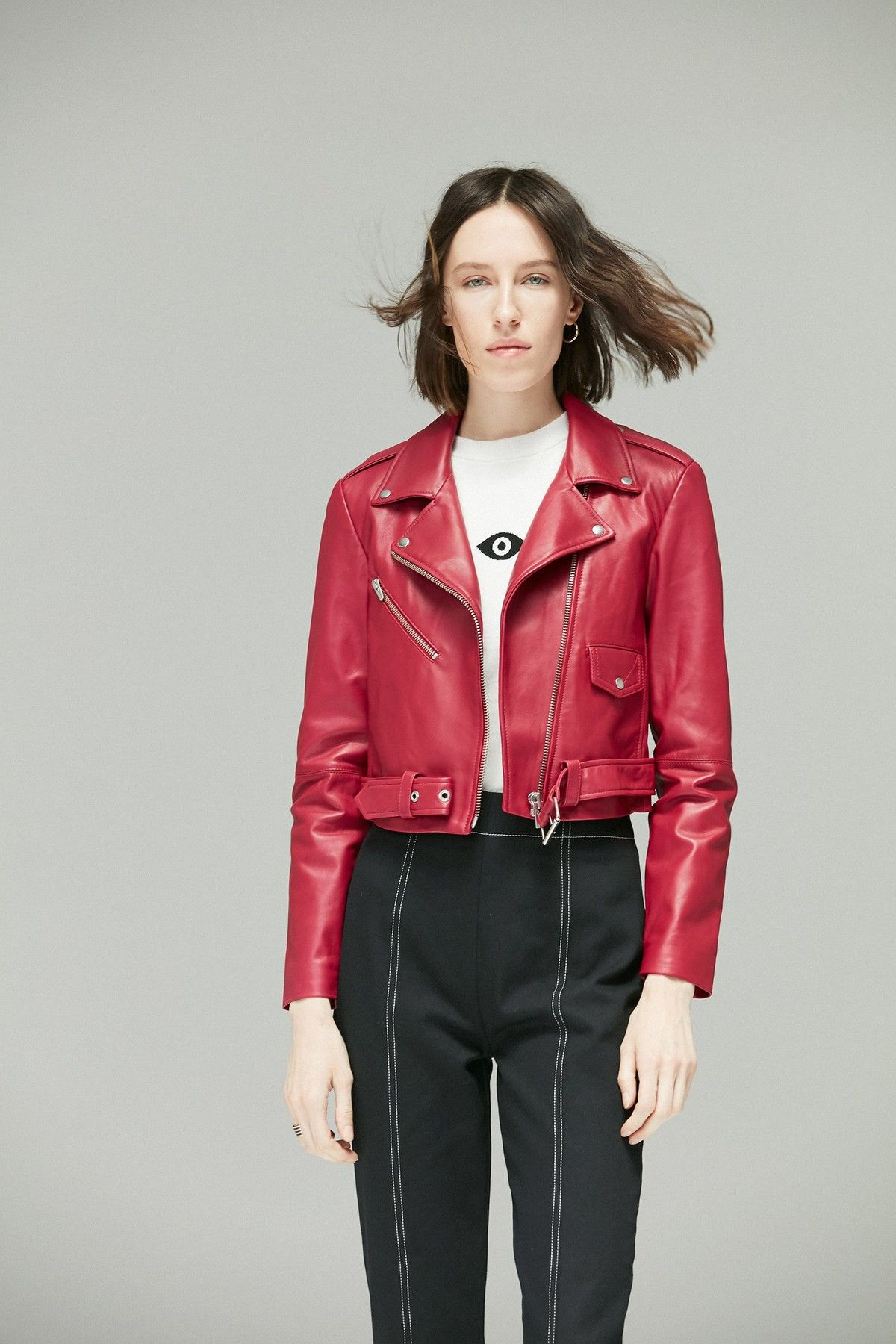 c2a677091 Baby Jane Jacket Cerise by Veda at ORCHARD MILE - if this red is a ...
