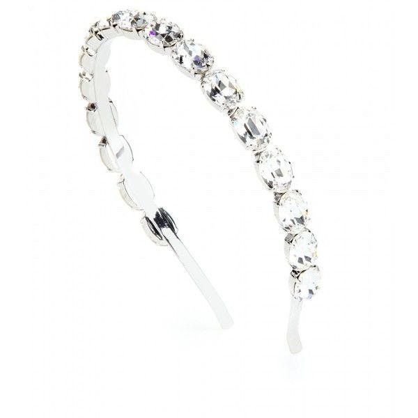 Dolce & Gabbana Crystal-Embellished Hairband $557