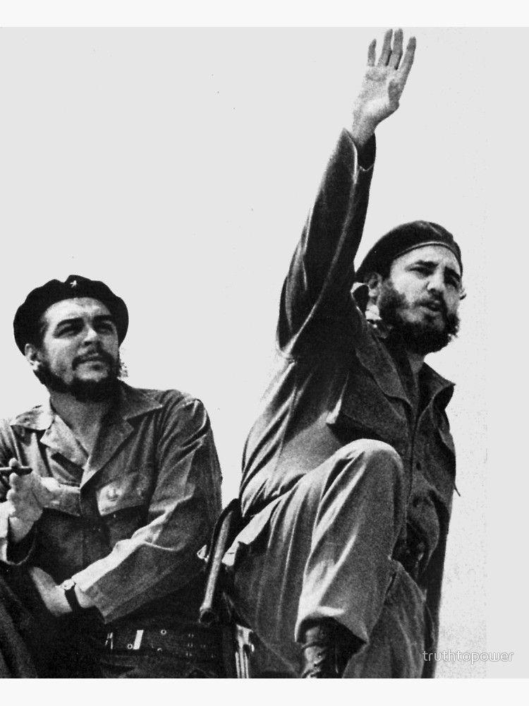 'Libertad Cuba-Che Guevara & Fidel Castro' Poster by truthtopower