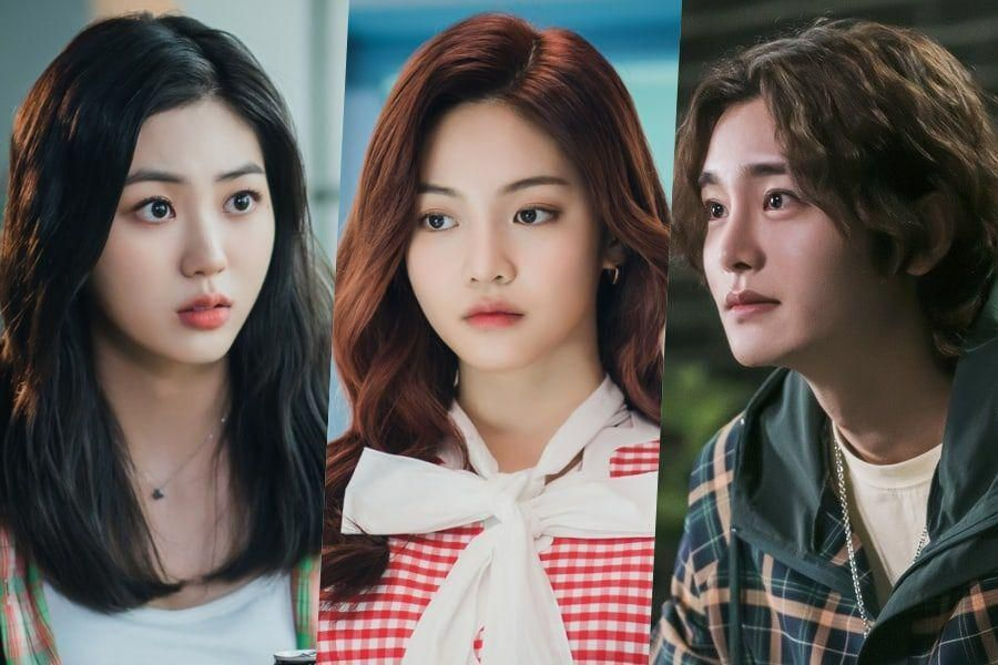 CLC's Eunbin, Woo Davi, And Choi Jung Woo Shine Bright With Youthful Energy In Upcoming Campus Drama