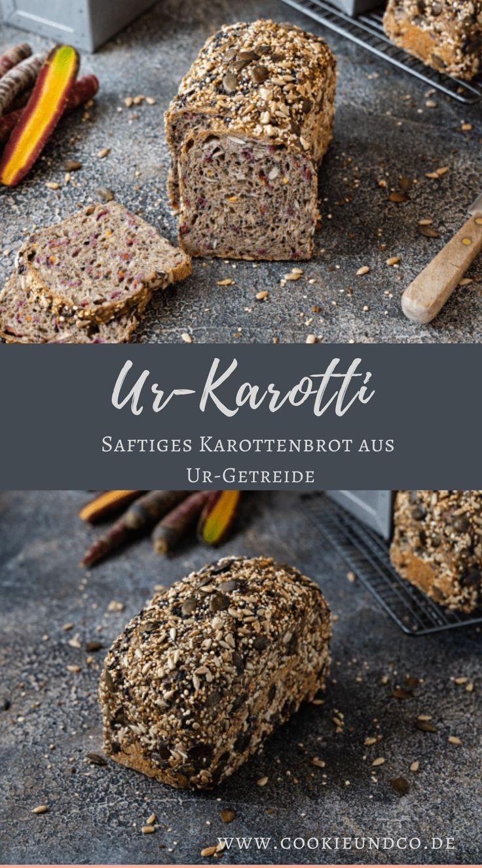 Ur-Karotti | Saftiges Karottenbrot aus Ur-Getreide | Cookie und Co