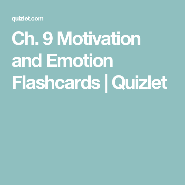 Bathroom Remodeling Quizlet ch. 9 motivation and emotion flashcards | quizlet | psychology