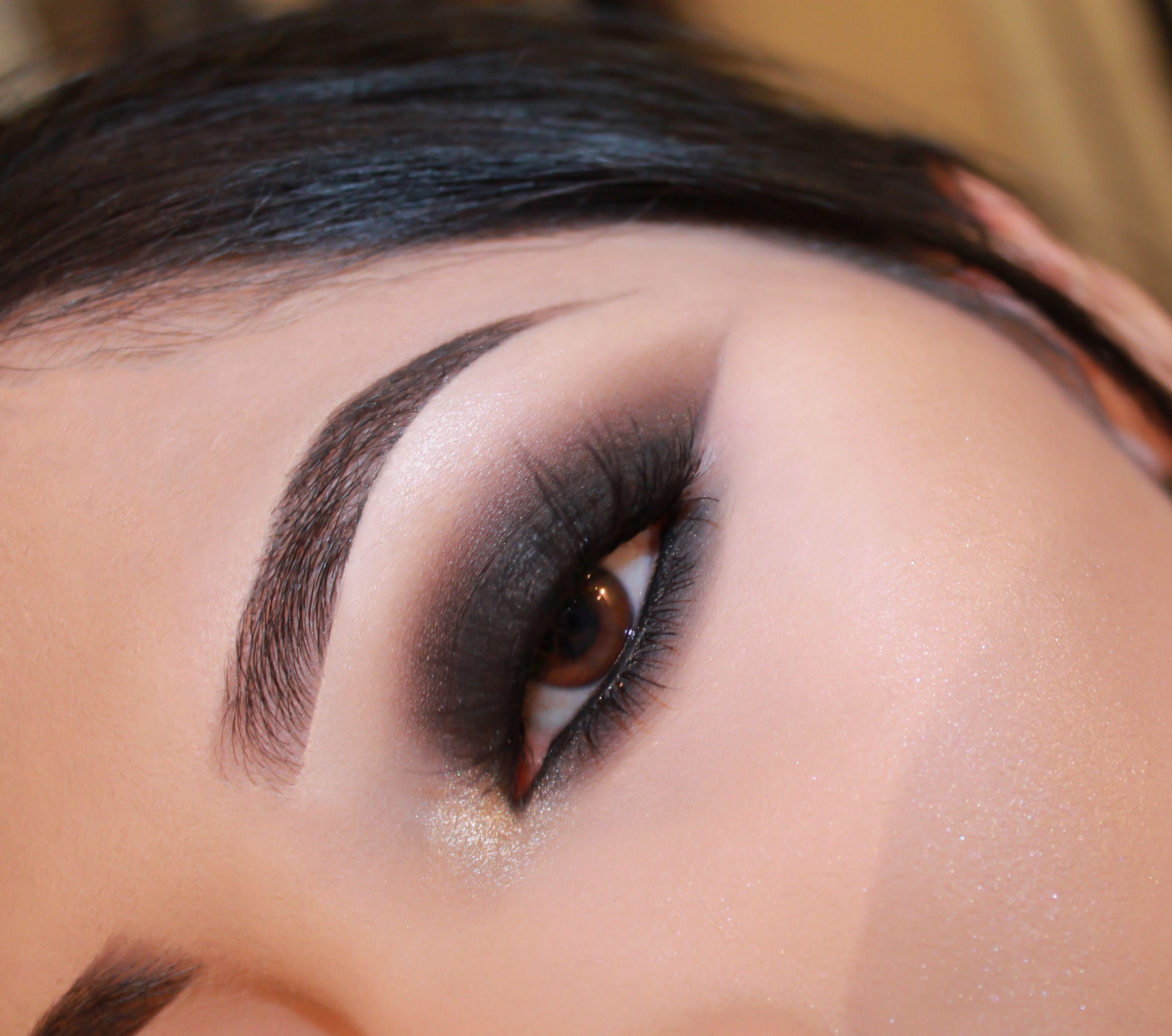 Maybelline Smoky Eye Black Eyeshadow Makeup Pinterest Smoky